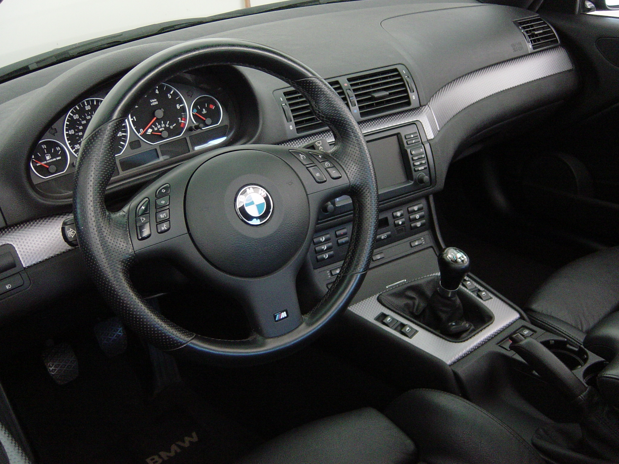 E46 BMW 3 Series M Sport Package Interior