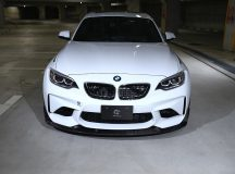 2016 BMW M2 Coupe with Standout Aero Kit from 3D Design Looks Almighty