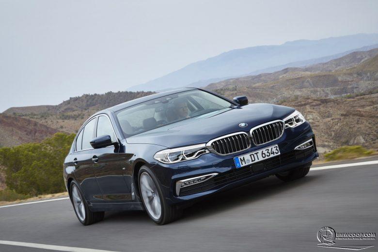 G30 BMW 5 Series: Exterior Design