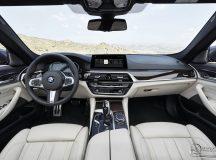 2017 BMW 5 Series M-Sport Package Interior