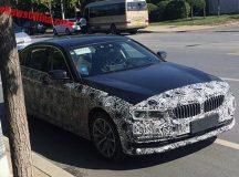 China: Stretched 2017 BMW 5 Series 5Li Gets Spied