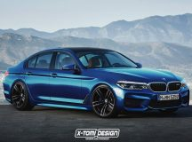 2017 G30 BMW 5 Series Rendered Online with M5 & Touring Body Stylings
