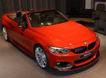 BMW 435i Cabriolet Tweaked with Akrapovic Evolution Exhaust System Gets Abu Dhabi Display