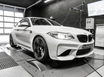 BMW M2 Coupe Undergoes a Stage 3 Power Boost, Installation by Mcchip-DKR