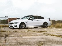 BMW M4 in Alpine White Looks Smashing on ADV.1 Wheels