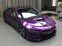 Gorgeous BMW i8 Gets Photo Session at Abu Dhabi Dealership