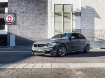 One-Off BMW M3 in Grigio Telesto Pearl Sits on HRE Performance Wheels