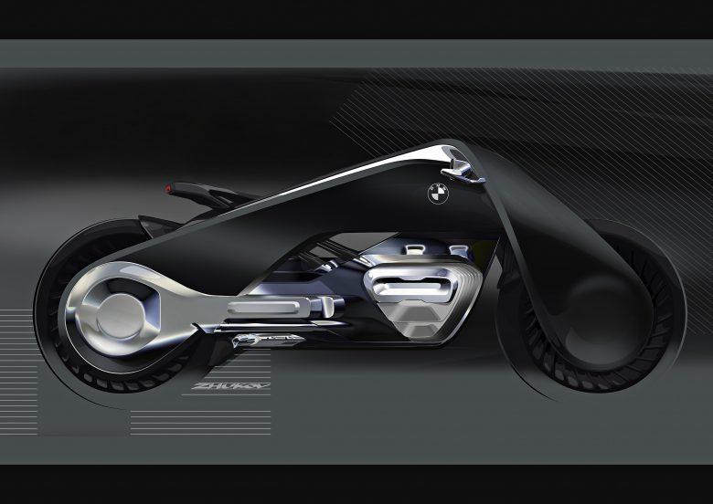 BMW Motorrad Unveils Vision Next 100 Great Escape Bike