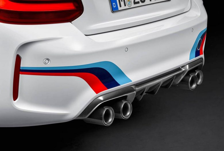 Australia: 2016 BMW M2 Coupe with M Performance Exhaust Introduced