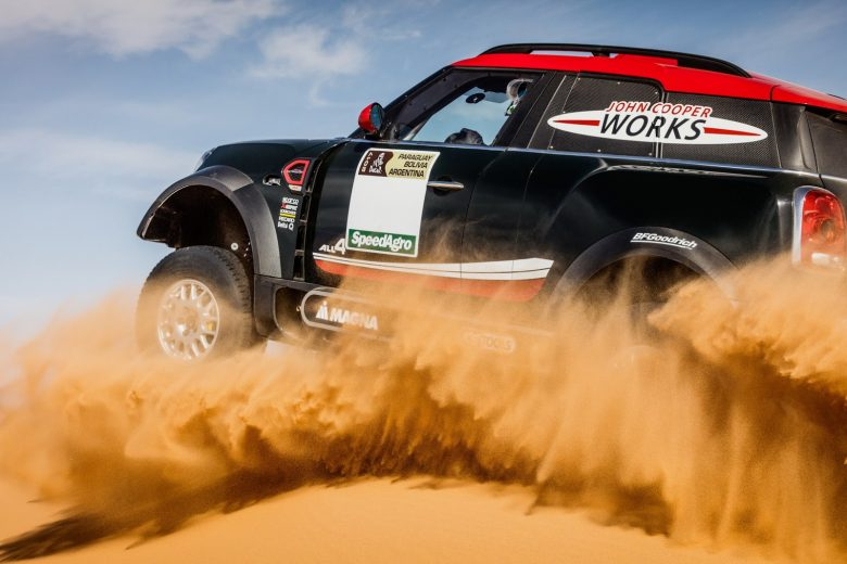 2017 MINI John Cooper Works Rally Is ready for some Dakar Action