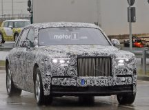 All-New 2018 Rolls-Royce Phantom Caught on Shots In-and-Out, Will Bring Significant Styling Bits