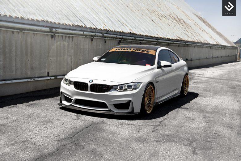 Alpine White BMW M4 Get New Wheels Courtesy of TAG Motorsports
