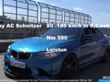 AC Schnitzer Creates the Fastest BMW M2 Coupe on the Sachsenring Race Track