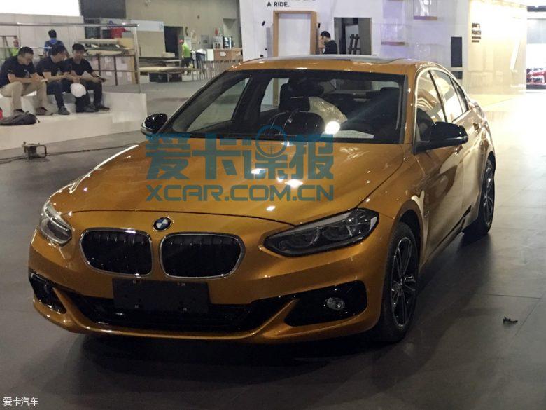 Chinese-Based BMW 1-Series Sedan- New Leaked Images Emerge