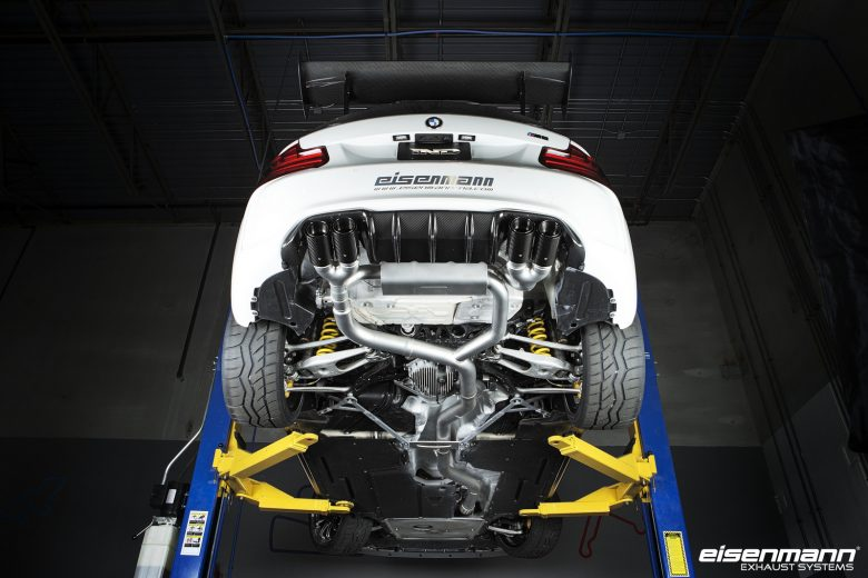 Videos: F87 BMW M2 Coupe with Eisenmann Exhaust