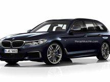 G31 BMW 5-Series Touring Rendered Online
