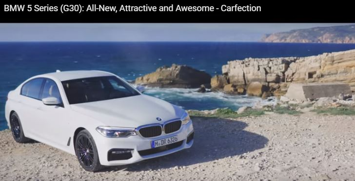 2017 G30 BMW 5-Series Gets New Video Review