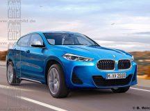 2018 BMW X2 Gets New Online Rendering