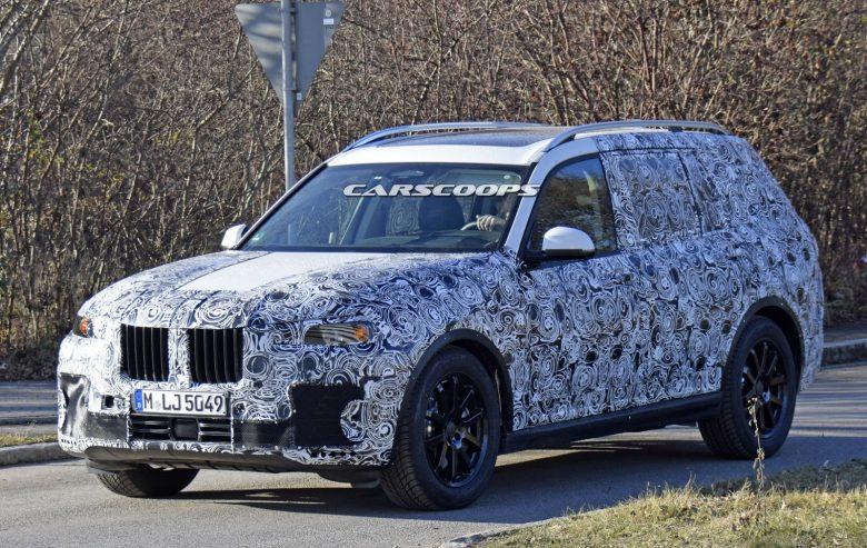 2019 BMW X7 – New Spy Photos Reveal Extremely Wide Body