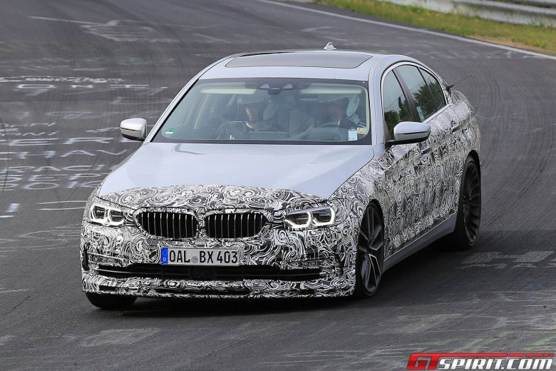 Alpina B5 Caught on Spy Undergoing Tests on the Ring