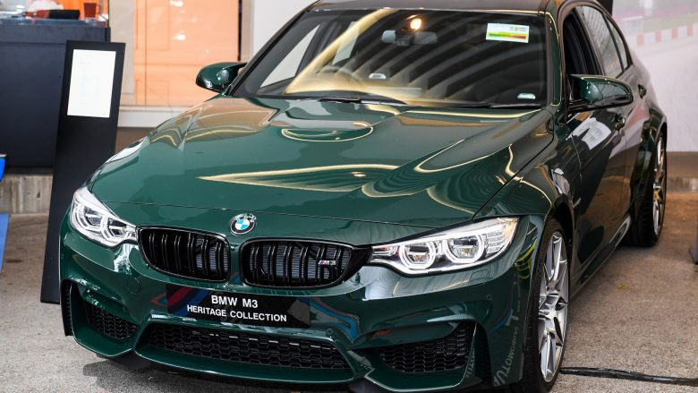 BMW M3 Heritage Collection Singapore Edition I Limited Edition Kicks Off