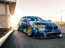 BMW M3 with Race Livery by HRE Wheels Is Mind-Blowing