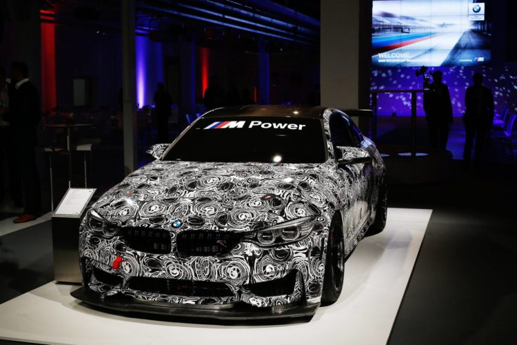 BMW M4 GT4 Breaks Cover in First Official Pics