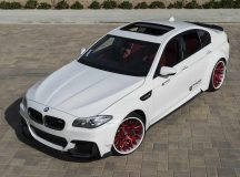 Prior Design Fits BMW M5 with Wide Aero Kit and Forgiato Wheels