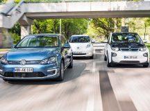 Which Is the Best Small Electric: BMW i3 vs Volkswagen e-Golf vs Nissan Leaf vs Hyundai Ioniq?