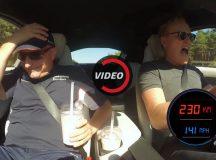 Video: Conan O`Brien Driver BMW i8 on Autobahn