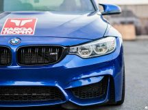 F80 BMW M3 by EAS Looks Smashing in the New San Marino Blue Exterior Wrap