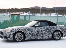 New Spy Shot with 2018 BMW Z5 Emerge, Reveals Less Camouflage and Rear End with Exhaust Tips