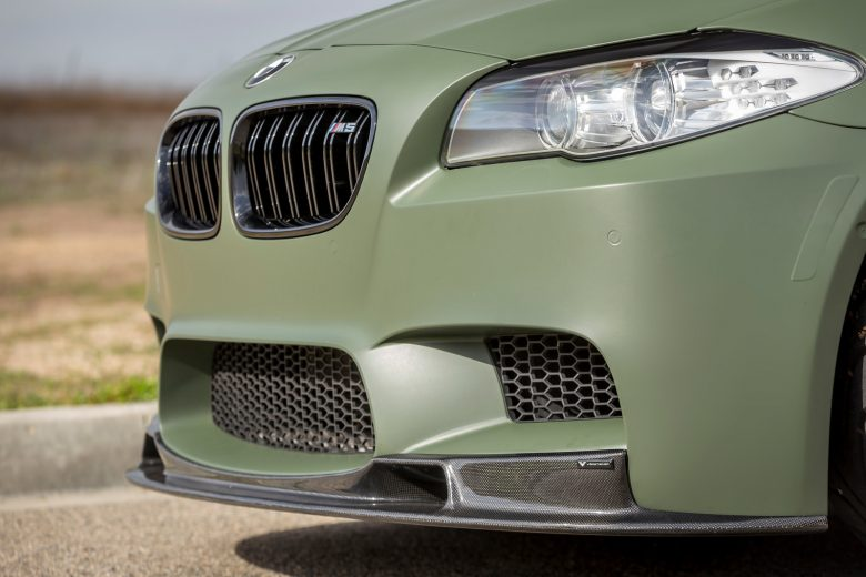 BMW M5 Looks Magnificent with the Vorsteneir`s Wheels