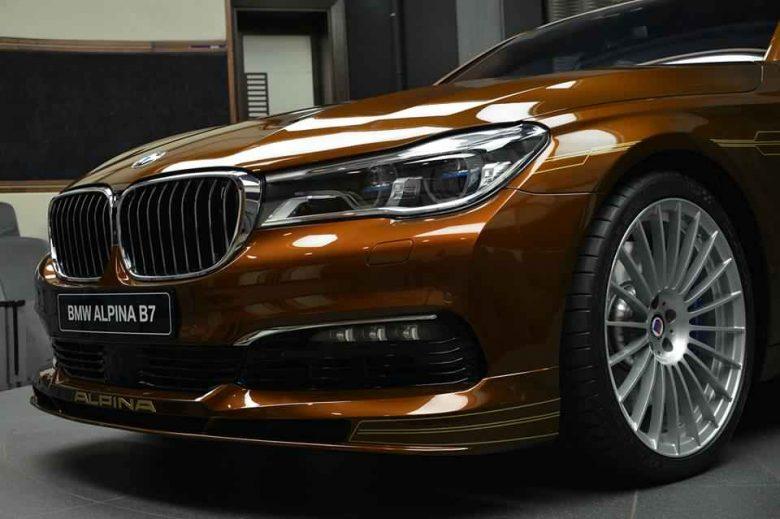 Impressive Media Gallery: BMW Alpina B7 Bi-Turbo Arrives in Abu Dhabi
