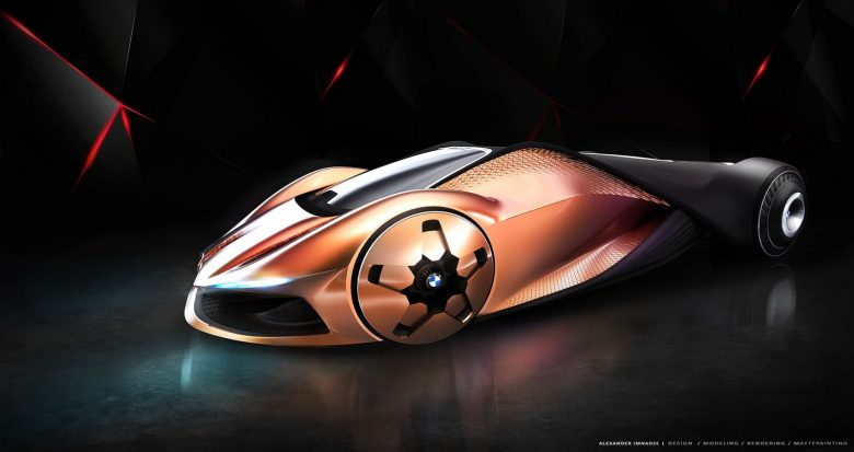 BMW M1 Shark Concept Sketched with Extreme Futuristic Design
