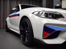 Baby-M with Full M Performance Kit Gets Impressive Display at BMW`s Abu Dhabi Dealership