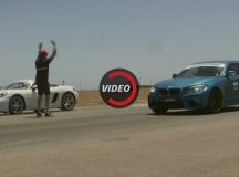 Video: BMW M2 Coupe vs. Porsche 718 Boxster S in Drag Race