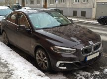 China-only BMW 125i Sedan Gets Caught on Munich`s Street