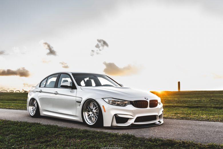 F80 BMW M3 Gets New Bagging Treatment