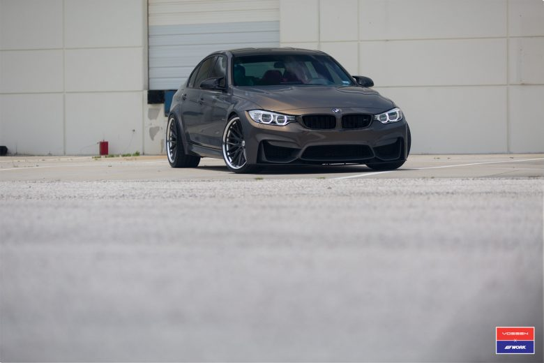 Video: F80 BMW M3 in Champagne Quarts Metallic Sits on Gorgeous and High-Performance Vossen Wheels