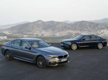 2017 5-Series Gets Impressive Display at BMW Welt, Munich