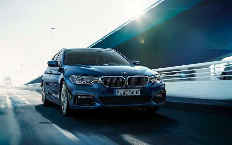 Media Gallery: 2017 BMW 5-Series Touring Looks Exceptionally Eye-Catching