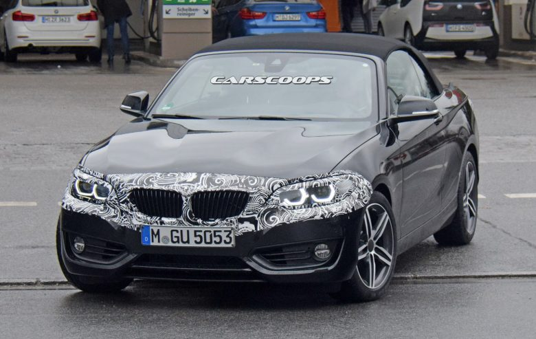 Spy Photos: 2018 BMW 2-Series Convertible Reveals Updated Front