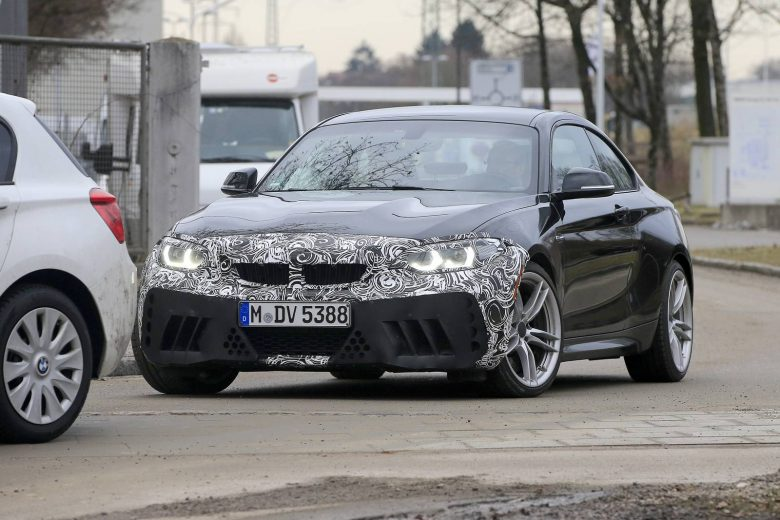 Is This the 2018 BMW M2 Facelift or the Upcoming M2 CS?