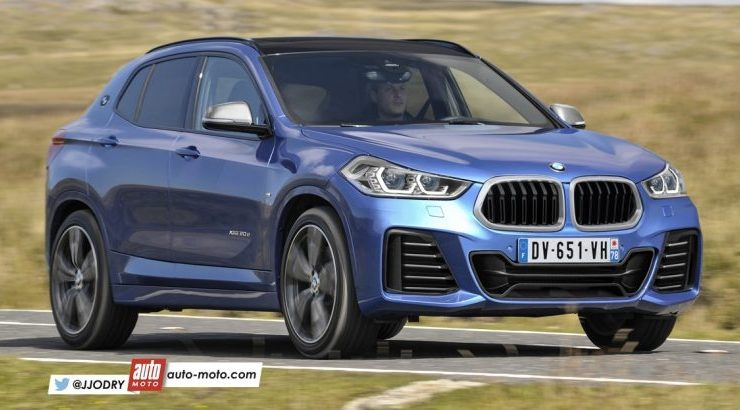 2018 BMW X2 Pops-Up in New Renderings