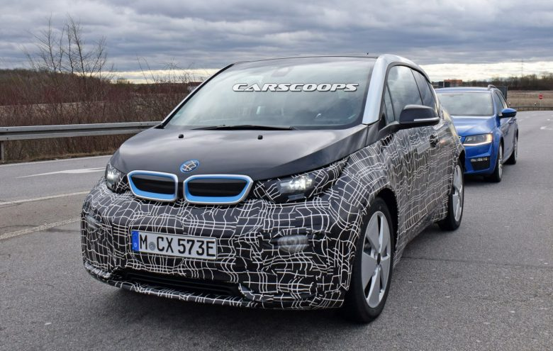 Slightly Updated 2018 BMW i3 Pops-Up in New Testing