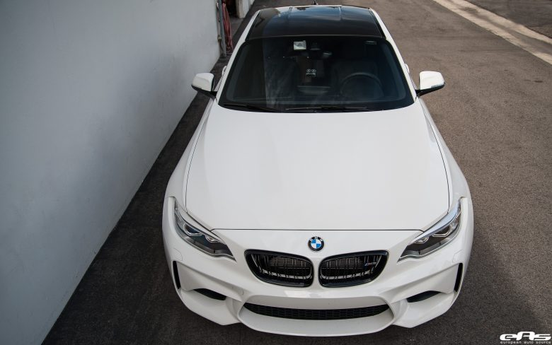 This Is the Gorgeous Alpine White BMW M2 Coupe by EAS