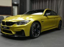 This Austin Yellow F82 M4 Is BMW Abu Dhabi`s Newest Acquisition