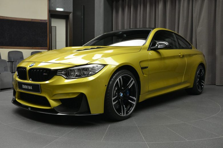This Austin Yellow F82 M4 Is Bmw Abu Dhabi S Newest Acquisition