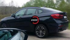 Drag Race: BMW 1M Coupe vs. BMW X6 M50d
